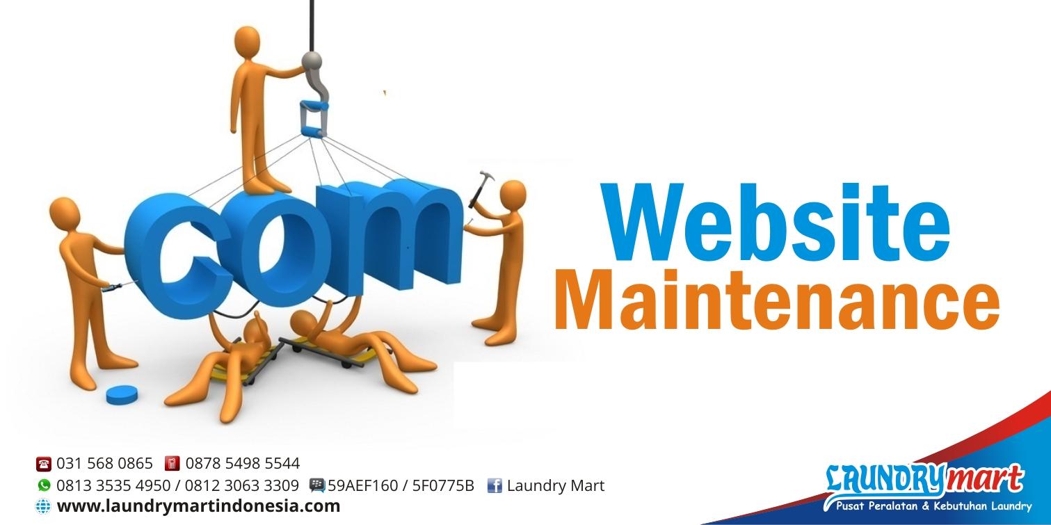 LM website maintenance - Beranda