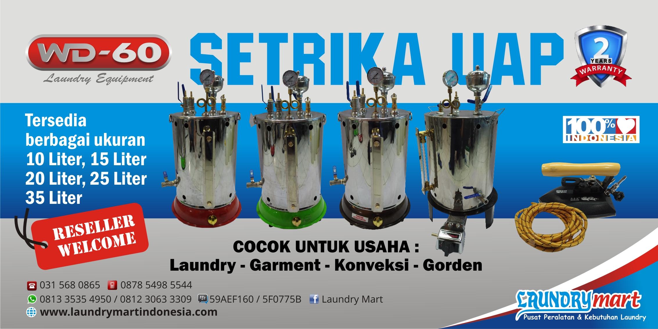 Setrika uap boiler wd60 wd 60 wd 60 steam boiler sertika uap laundry - Beranda