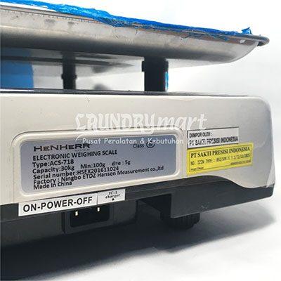 Timbangan Duduk Timbangan Laundry Murah Timbangan Digital Laundry Murah 1 400x400 - Timbangan Duduk Digital Henher ACS718