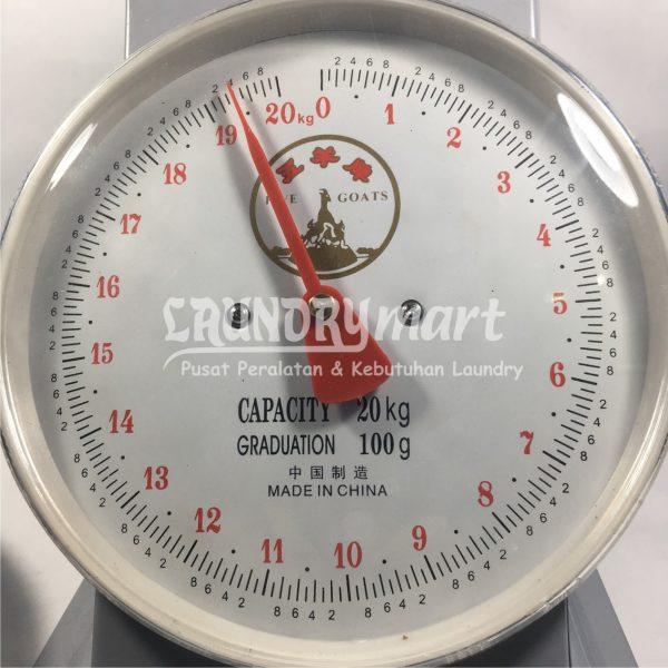 Timbangan Duduk untuk Laundry Dial Spring Scale Timbangan Analog 600x600 - Timbangan Duduk Analog