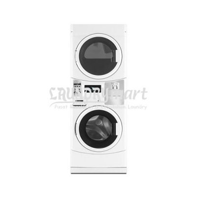 laundry koin - laundry coin - stacked maytag - mesin stacked - washer dryer - MLE21PDAGW