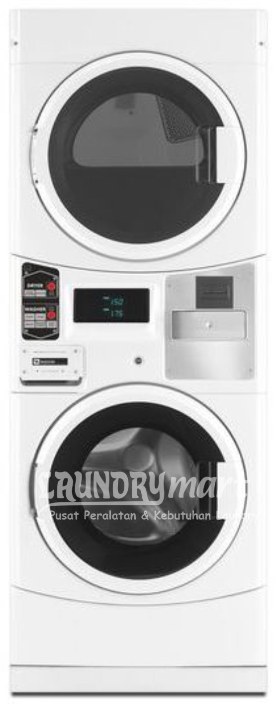 laundry koin - laundry coin - stacked maytag - mesin stacked - MLE21PDAGW