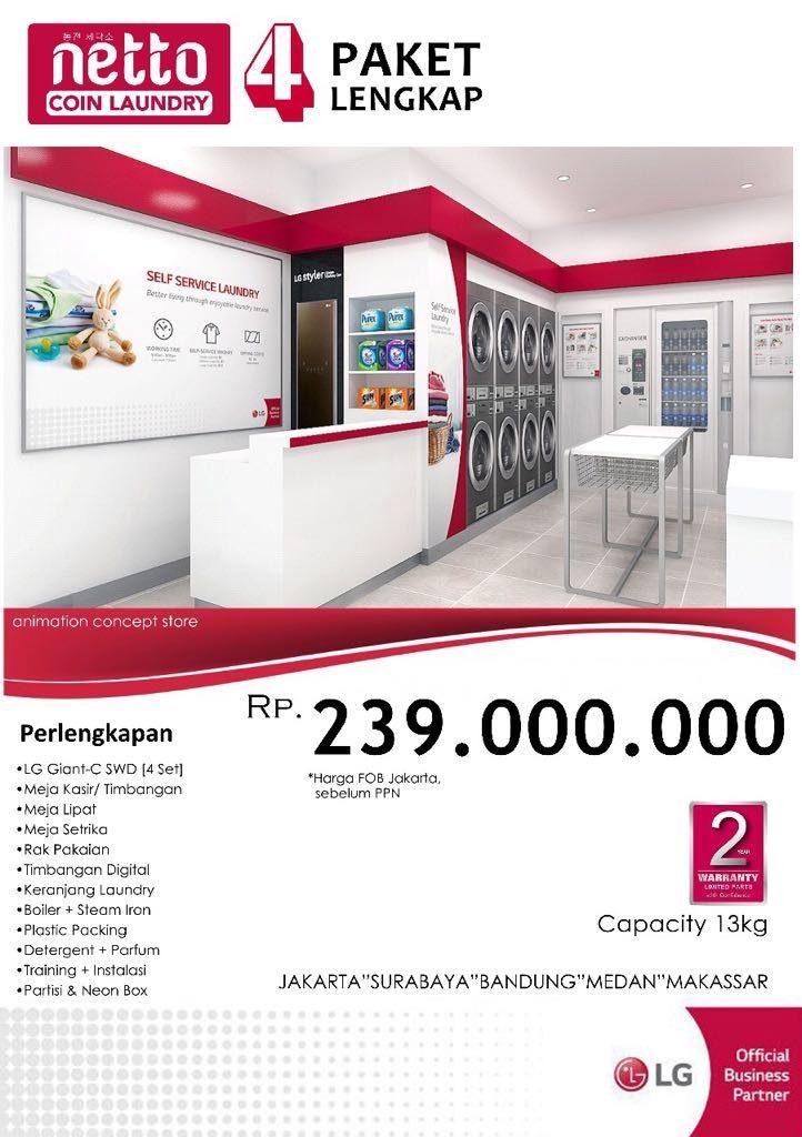 "Paket ""Netto Coin Laundry"" 4 Lengkap 1 722x1024 - PAKET USAHA LAUNDRY"
