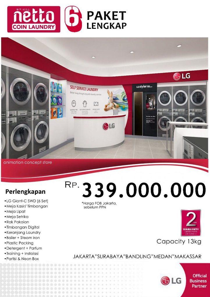 "Paket ""Netto Coin Laundry"" 6 Lengkap 722x1024 - Paket ""Netto Coin Laundry"" 6 Lengkap"