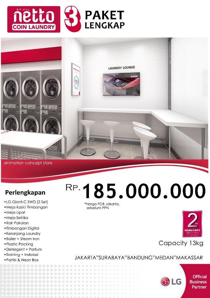 Laundry Mart Indonesia - Pusat Peralatan dan Kebutuhan Laundry