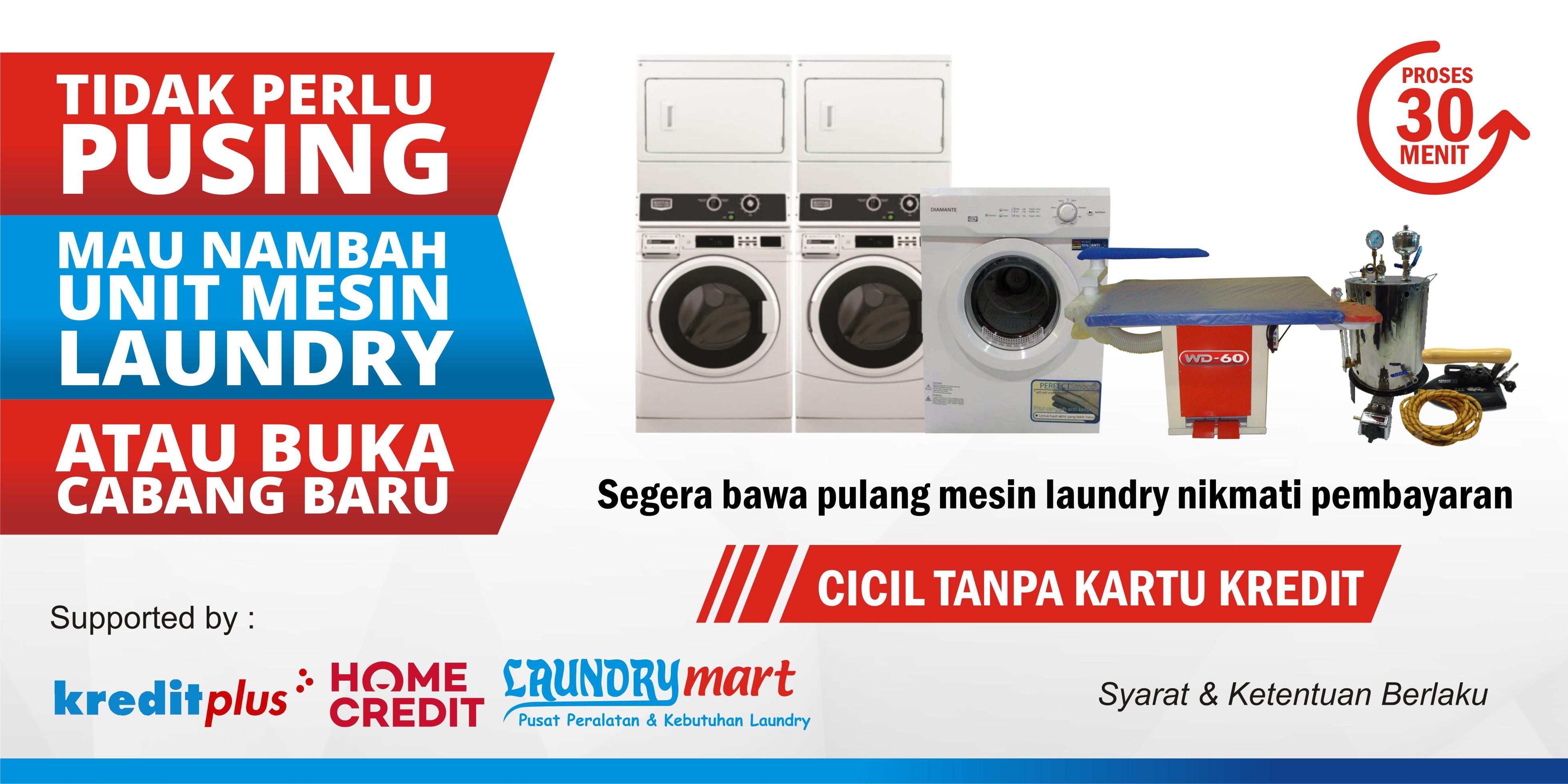 2 Promo Cicilan kartu kredit kreditplus homecredit laundry mart laundrymart mesin laundry usaha laundry bisnis laundry peluang usaha laundry - Beranda