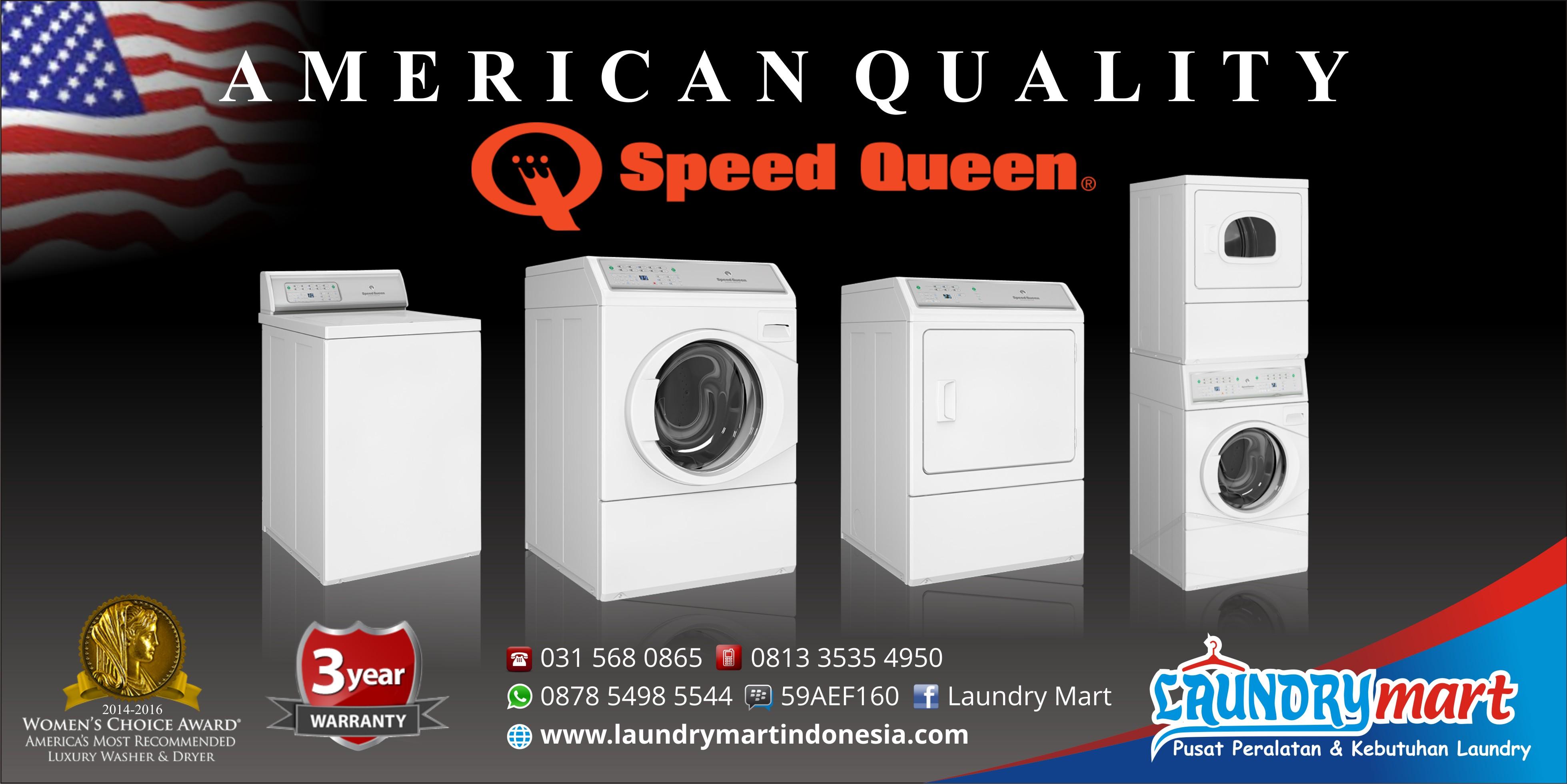 Banner LM SpeedQueen speed queen laundrymart laundry mart - Beranda