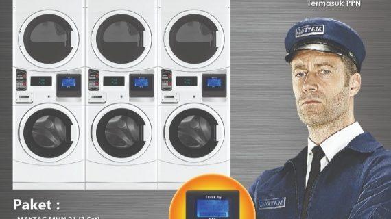 card laundry system - peluang bisnis - maxpress - maytag - 3