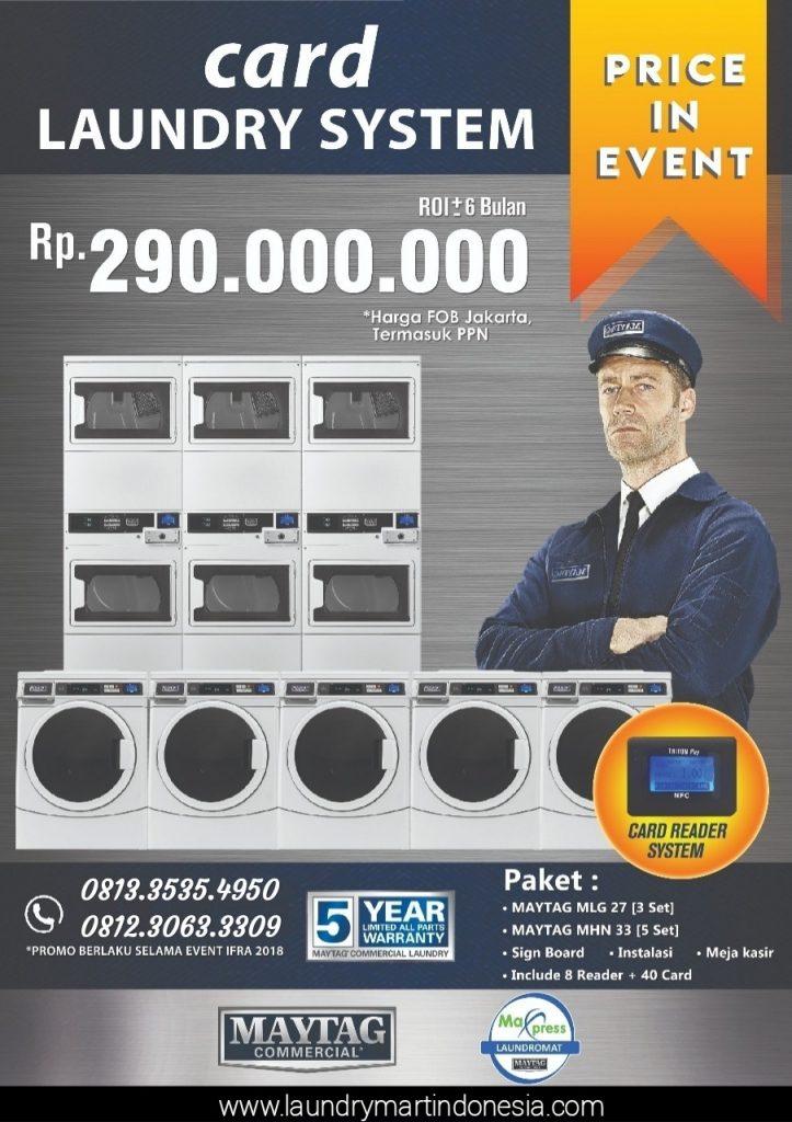 card laundry system - peluang usaha - maxpress - maytag - 6