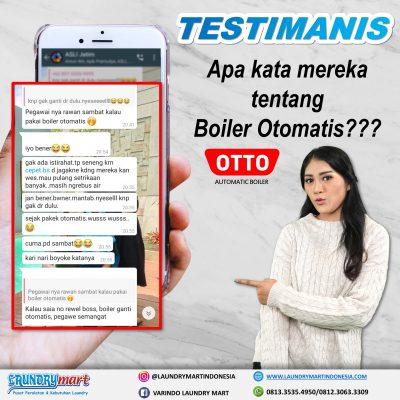 laundry mart indonesia - testimanis - otto boiler otomatis - setrika uap otomatis - otto setrika uap otomatis - peralatan laundry - kebutuhan laundry - laundry surabaya