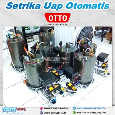 setrika uap - setrika uap laundry - boiler otomatis