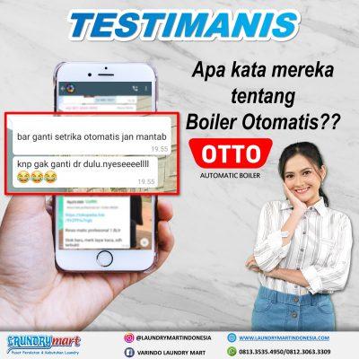 testimanis - otto boiler otomatis - setrika uap otomatis - otto setrika uap otomatis - peralatan laundry - kebutuhan laundry - laundry mart indonesia