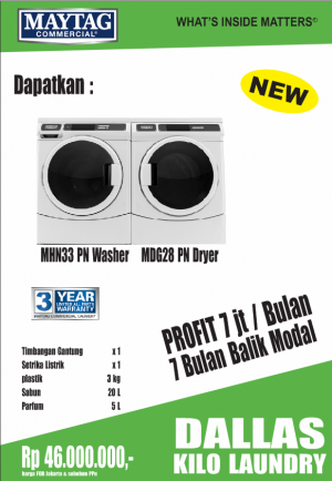 dallas1 kilo 300x434 - PAKET USAHA LAUNDRY
