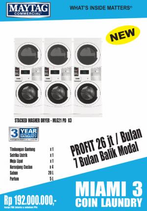 miami3 coin 300x430 - PAKET MIAMI-3 COIN-LAUNDRY