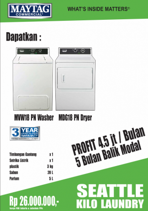 seattle1 kilo 300x427 - PAKET USAHA LAUNDRY